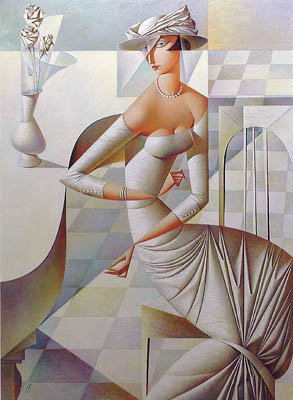 Picture-20 ( 20 Vibrant Cubist Art works and Illustrations by Georgy Kurasov )